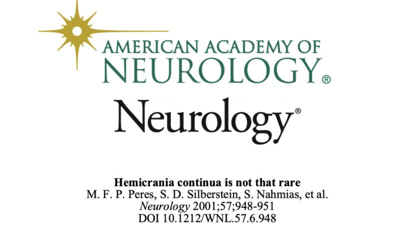 neurology Hemicrania Continua